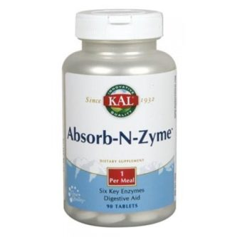 Absorb-N-Zyme 90 comprimidos (Kal)