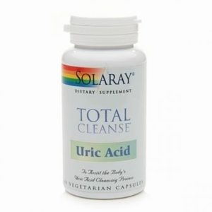 TOTAL CLEANSE Uric Acid 60 cápsulas (Solaray)