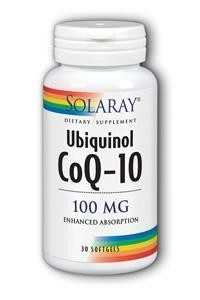 Ubiquinol CoQ-10 100 mg (Solaray)