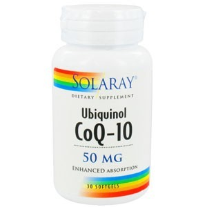 Ubiquinol CoQ-10 50 mg (Solaray)