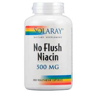 Niacin No Flush 500 mg (Solaray)