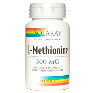 L-Methionine 500 mg 30 cáps. (Solaray)