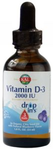 Vitamina D3 gotas 50 ml (Solaray)