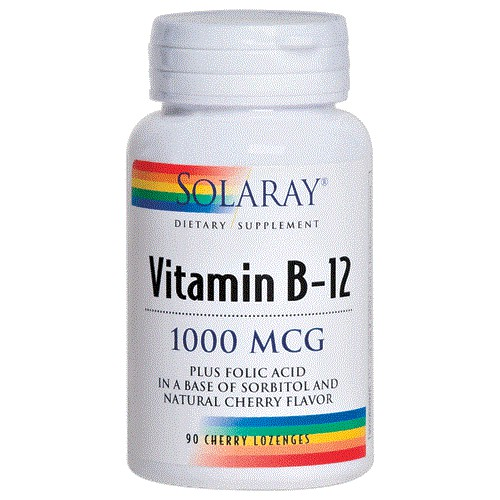 VITAMIN B12 1000 MCG Sublingual (SOLARAY)