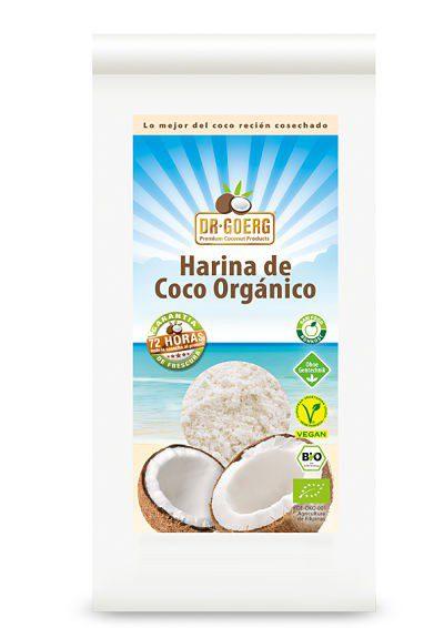 Harina de Coco Bio 600 g (Dr. Goerg)