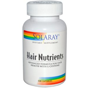Hair Nutrients 60 cápsulas (Solaray)