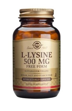 L-Lysine 500 mg (Solgar)