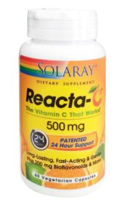 Reacta-C (con Bioflavonoides) 500 mg (Solaray)